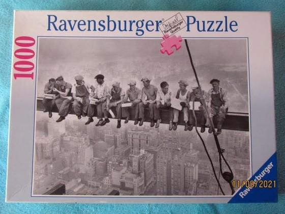 Lunchtime 19321000RAVENSBURGER2001 UPI / BETTMANNPuzzle15 618 4700 x 500BreitBestand Nr. 006