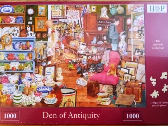 Den of Antiquity, HOP, 1000 Teile