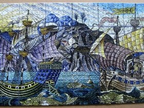 Galleon Tile Panel - Puzzle von magihabbi/Puzzlemania an Kiesel