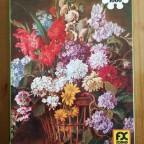 Adam Kunz - Großer Blumenkorb
