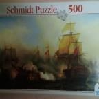 Seeschlacht von Trafalger-Schmidt-500 Teile