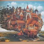 Fliegende Stadt, 1000 Teile (Schmidt)