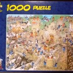 Mittelalter, 1000 Teile, Jumbo