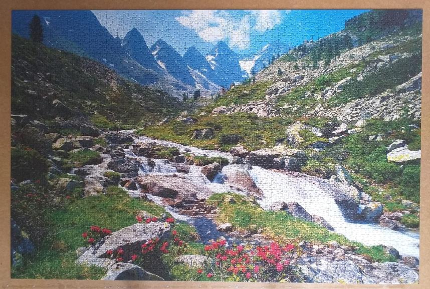 Austria , Tirol. 3168 Pieces ( Ravensburger Puzzle ).
