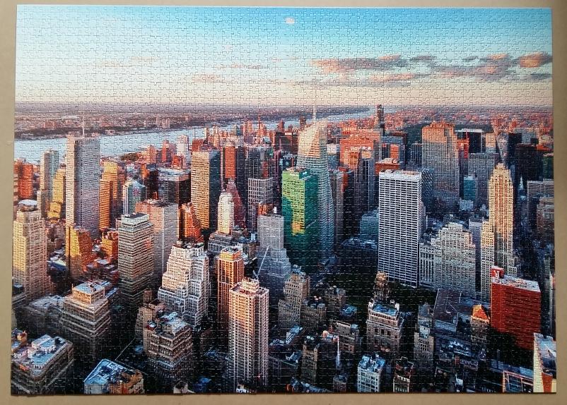 Manhattan, New York, USA. 3000 Pieces ( Dino Puzzle )