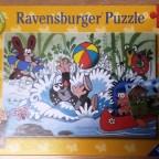 Urlaub mit dem Maulwurf und seinen Freunden, Ravensburger, 2 x 24 Teile