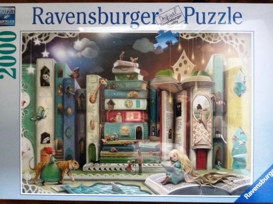 Bücher-Allee, 2000 Teile, Ravensburger