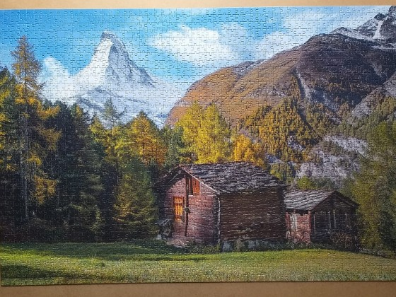Fascination with Matterhorn 2000 Pieces ( Clementoni )