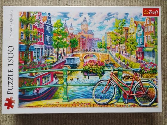 Amsterdam, 1500 Teile (Trefl)