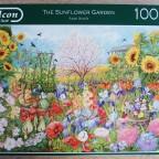 """""""The Sunflower Garden"""" (Anne Searle) von Falcon (Jumbo)"""
