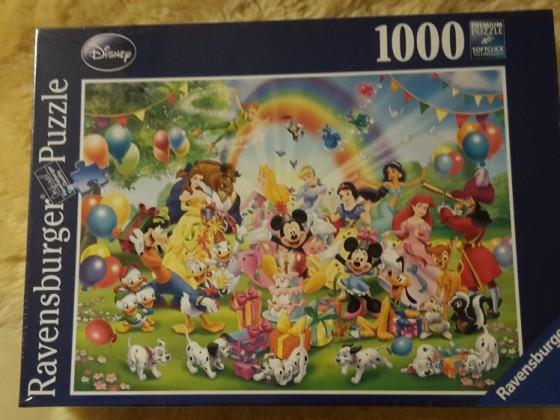 Disney: Mickey feiert Geburtstag 1000 Ravensburger