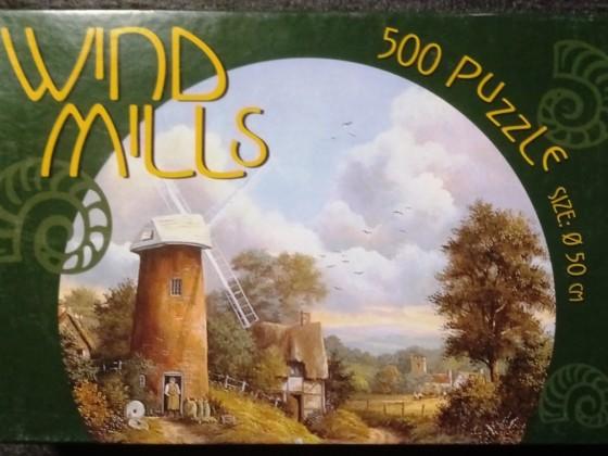 Windmills, Rundpuzzle, PTZ AG, 500 Teile