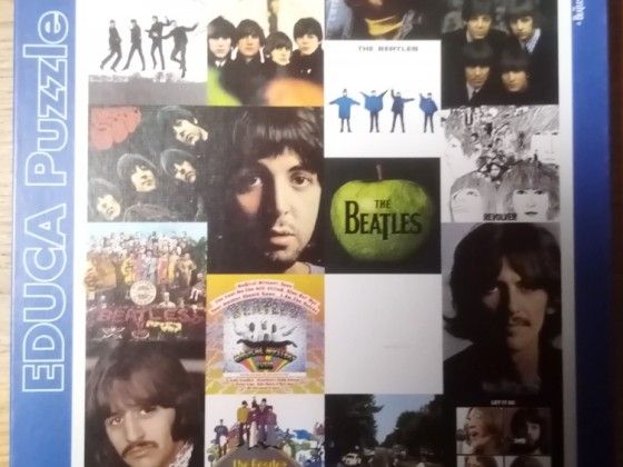 The Beatles Collage, Educa, 1000 Teile