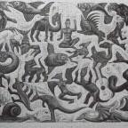 Mosaic II - M.C. Escher von shaddowww