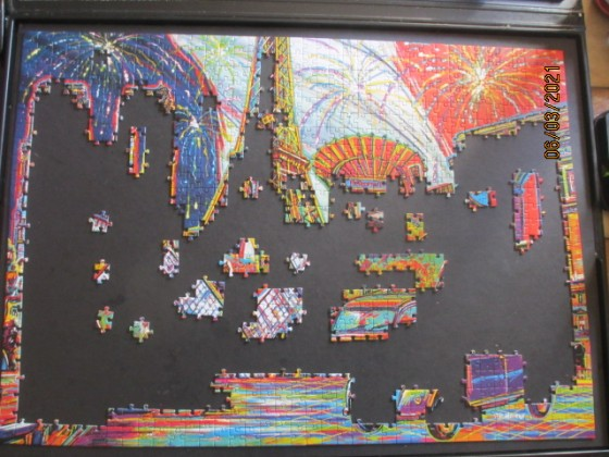 Trefl Colors of Paris 1000