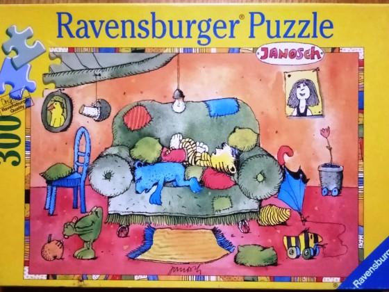 Ruhepäuschen beim kleinen Tiger, 300 Teile, Ravensburger