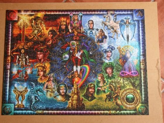 Tarot-Montage von Ciro Marchetti-Fotopuzzle-1000 Teile