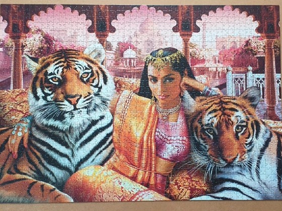 Indian Princess 1504 pieces ( Clementoni )