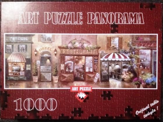 Cafe Walk I, James Lee, Art Puzzle, 1000 Teile