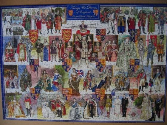 King & Queens-Citadel-1000 Teile