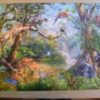 """Wanderpuzzle Nr. 13 """"Leben im Dschungel"""" 2000 Teile Castorland"""