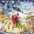 Santas Christmas Party-Ravensburger-1000 Teile (Reserviert)