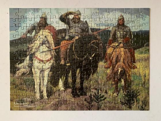 Die drei Recken_Puzzle