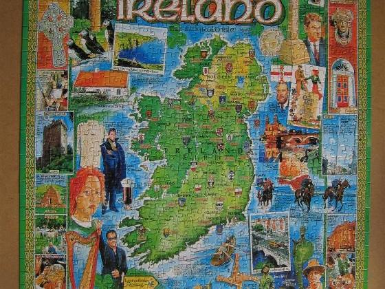 Ireland-White Mountain-1000 Teile