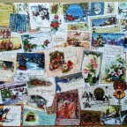 Vintage Greeting Cards-Cobble Hill-1000 Teile