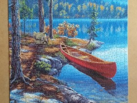 Time Well Spent by Darrel Bush 1504 Pieces ( Clementoni )