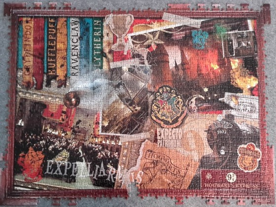 World of Harry Potter, 1000 Teile (Fehlteilpuzzle)