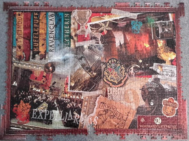 World of Harry Potter, 1000 Teile (Fehlteilpuzzle)
