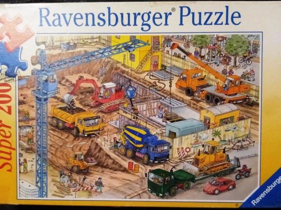 Baustelle, Ravensburger, 200 Teile