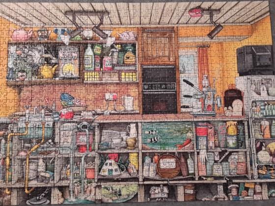 Sonderbare Küche, Colin Thompson, 1000 Teile