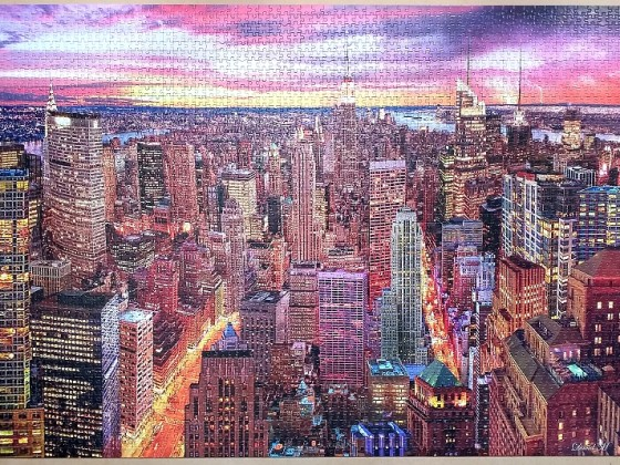 Manhattan Skyline 3000 Pieces ( Educa Puzzle )