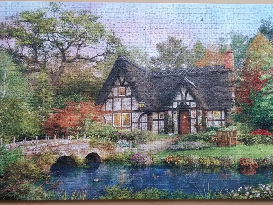 The Stoney Bridge Cottage by Dominic Davison 2000 Pieces ( KS Games )