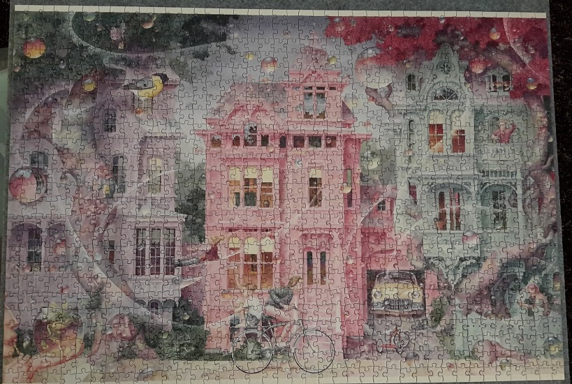Bubble Street, Daniel Merriam, Pomegranate, 1000 Teile