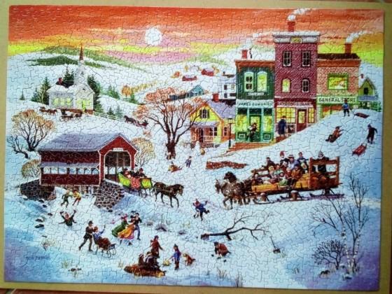 Winter Wonderland von Bob Pettes-Sunsout-1000 Teile