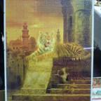 Tiger im Tempel, 1000