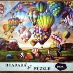 Colorful Balloon, 1000 Teile, Huadada