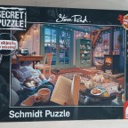 """Im Ferienhaus"" (Steve Read), Secret Puzzle von Schmidt"