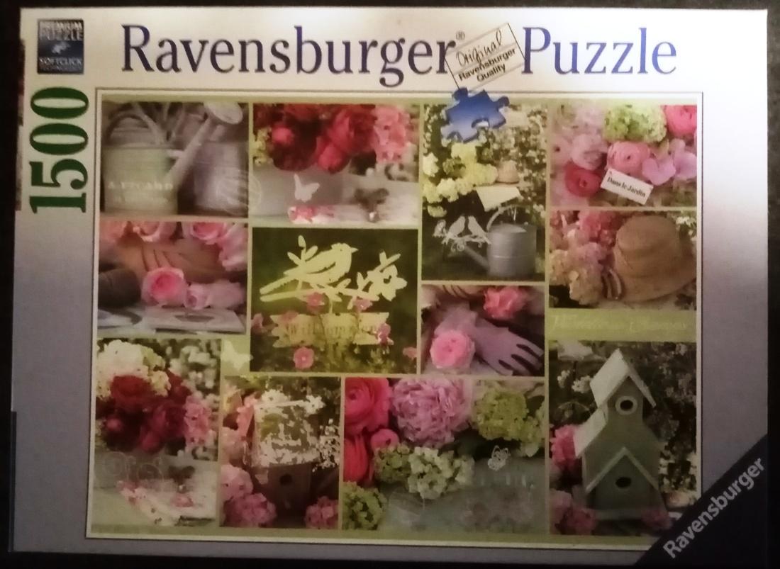 Shabby Chic Garden, Ravensburger, 1500 Teile