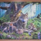 Wölfe im Wald, 1000 Teile (Ravensburger)