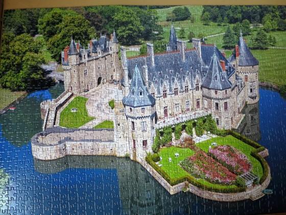 1000 Teile Schloss an der Loire