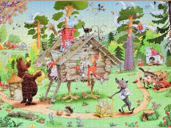 Step-Puzzle - Besuchen Sie das Märchen, 1000