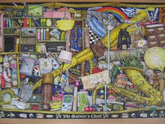 Mariner´s Chest von Colin Thompson-Ravensburger-1000 Teile