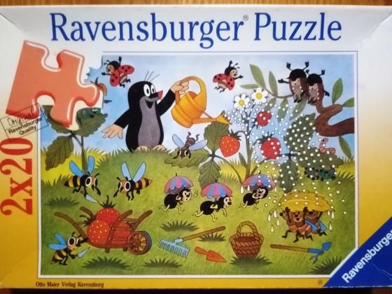 Der Maulwurf im Garten, 2 x 20 Teile, Ravensburger