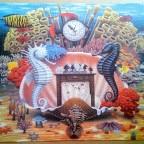 Chess on the reef von Jacek Yerka-Castorland-3000 Teile