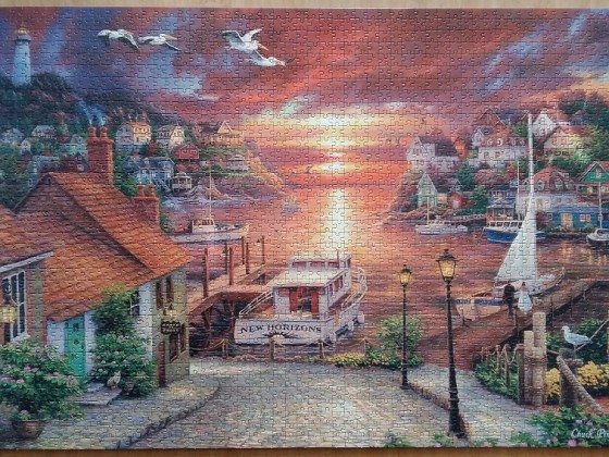 New Horizons by Chuck Pinson 2000 Pieces ( Clementoni )