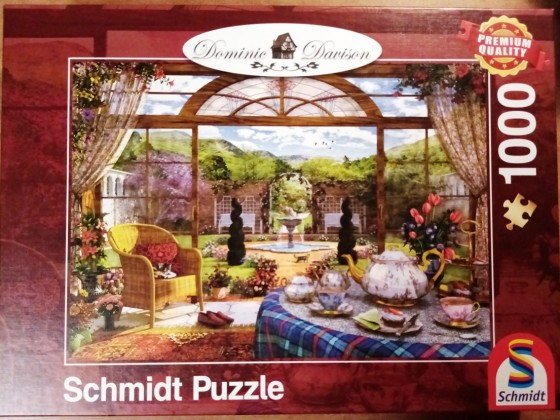Blick aus dem Wintergarten, Schmidt, 1000 Teile